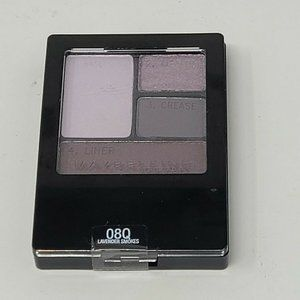 Maybelline  Eyeshadow Quad Lavender Smokes